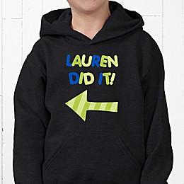They Did It! Hanes® Youth Hooded Sweatshirt