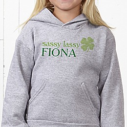 Born Lucky Hanes® Youth Hooded Sweatshirt
