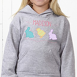 Hip Hop Easter Personalized Hanes® Youth Hooded Sweatshirt