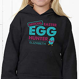 Easter Egg Hunter Hanes® Youth Hooded Sweatshirt