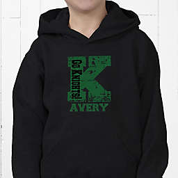 Go Team Personalized Hanes® Youth Hooded Sweatshirt