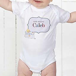 The Precious Moments® Personalized Christening Baby Bodysuit