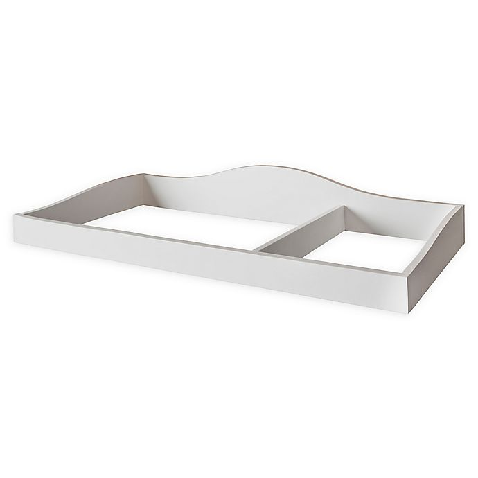 Alternate image 1 for évolur™ Universal Changing Topper in White