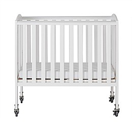 Dream On Me 2-in-1 Folding Portable Birch Crib