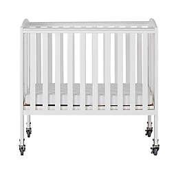 Dream On Me 2-in-1 Folding Portable Birch Crib