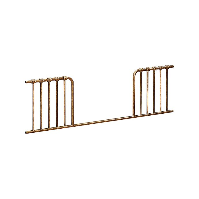 Alternate image 1 for Million Dollar Baby Classic Abigail Toddler Guard Rail in Vintage Gold