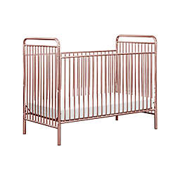 Babyletto Jubilee 3-in-1 Convertible Crib in Pink Chrome