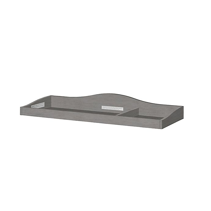 Alternate image 1 for évolur™ Universal Changing Topper in Rustic Grey