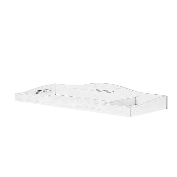 Alternate image 1 for évolur™ Universal Changing Topper in Weathered White