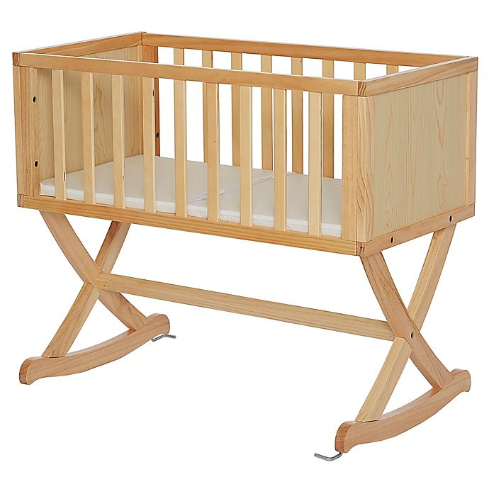 Alternate image 1 for Dream On Me Haven Cradle in Natural