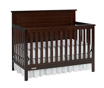 Fisher-Price® Lucas 4-in-1 Convertible Crib in Light Espresso