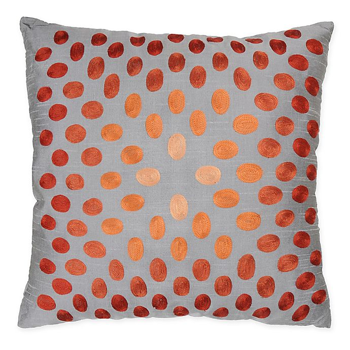 Alternate image 1 for Rizzy Homes Dots Square Indoor/Outdoor Throw Pillow