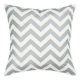 Rizzy Home Chevron Square Throw Pillow