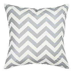 Rizzy Home Chevron Square Throw Pillow