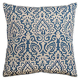 Rizzy Home Floral Damask Square Indoor/Outdoor Throw Pillow