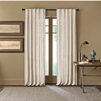 Cambria® Malta 95-Inch Rod Pocket/Back Tab Window Curtain Panel in Snow White