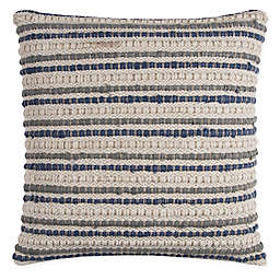 Rizzy Home Textured Stripe Square Throw Pillow