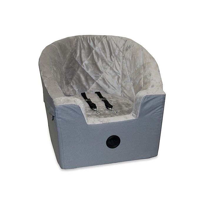 Alternate image 1 for K&H Bucket Booster Small Pet Car Seat in Grey