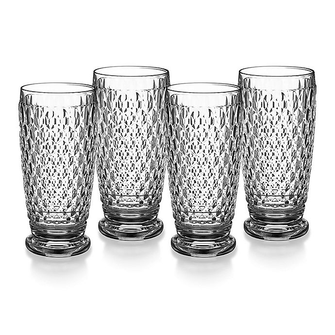 Alternate image 1 for Villeroy & Boch® Boston 11 oz. Highball Glasses (Set of 4)