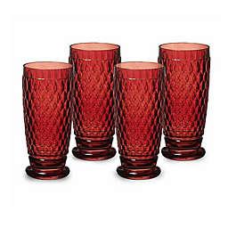 Villeroy & Boch Boston 13.5 oz. Highball Glasses (Set of 4)