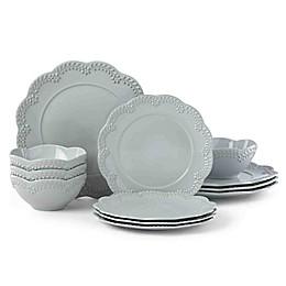 Lenox® Chelse Muse Floral Blue 12-Piece Dinnerware Set
