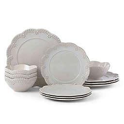 Lenox® Chelse Muse Floral Grey™ 12-Piece Dinnerware Set