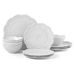Lenox® Chelse Muse Floral White™ 12-Piece Dinnerware Set