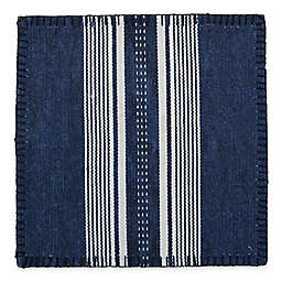 Santana Stripe Canvas Placemat in Indigo