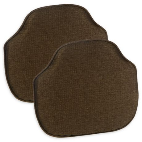 Buy Gripper 174 Windsor Chair Cushions In Chestnut Set Of 2