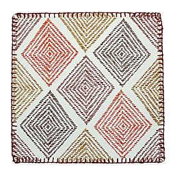 Stitched Diamonds Canvas Placemat