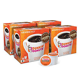 Dunkin' Donuts® Original Blend Coffee Keurig® K-Cup® Pods Value Pack 64-Count