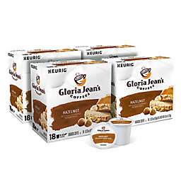 Gloria Jean's® Hazelnut Flavored Coffee Keurig® K-Cup® Pods Value Pack 72-Count