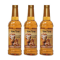 Jordan's Skinny Syrups™ 3-Pack 750 mL Salted Caramel Syrups