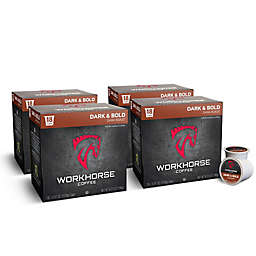 WORKHORSE Coffee 72-Count Dark & Bold Roast Coffee Pods for Single Serve Coffee Makers
