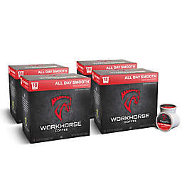 WORKHORSE Coffee 72-Count All Day Smooth Coffee Pods for Single Serve Coffee Makers