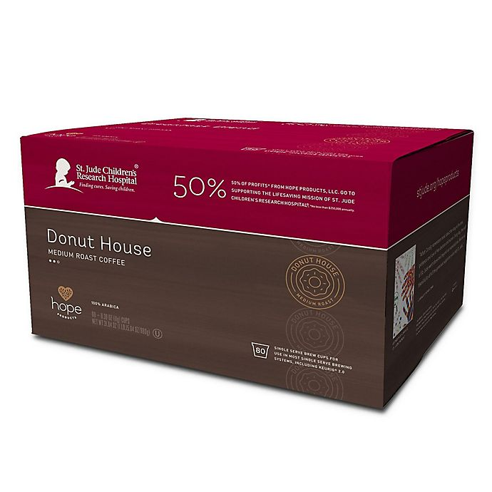 Alternate image 1 for Hope Coffee® 80-Count Donut House Coffee Pods for Single Serve Coffee Makers