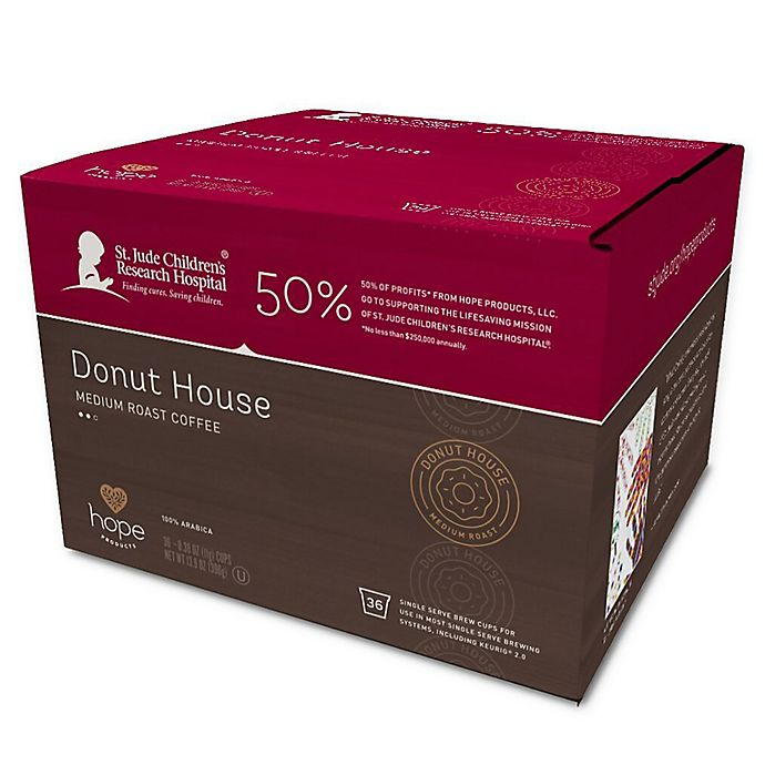 Alternate image 1 for Hope Coffee® 36-Count Donut House Coffee Pods for Single Serve Coffee Makers