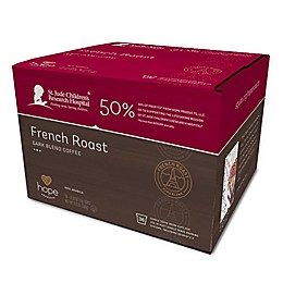 Hope Products Coffee® Donut French Roast Pods for Single Serve Coffee Makers 36-Count