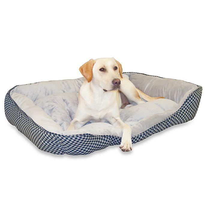 Alternate image 1 for K&H Medium Self-Warming Pet Lounge Sleeper in Grey