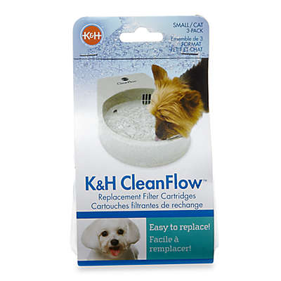 K&H CleanFlow Replacement 3-Pack Filter Cartridges