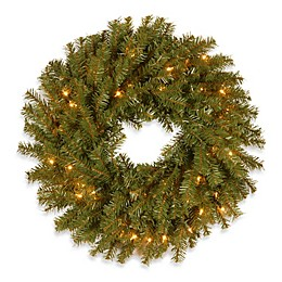 National Tree Norwood Fir Garland With Lights