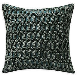 Macrame Square Throw Pillow