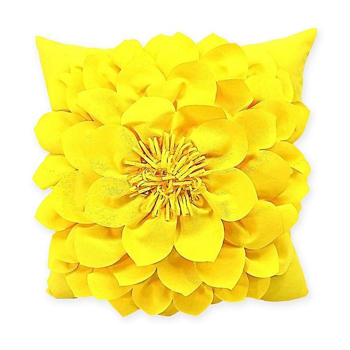 Yellow Outdoor Throw Pillows.Sunnyside Square Indoor Outdoor Throw Pillow In Yellow Bed