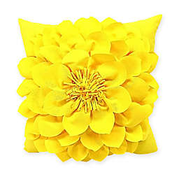 Sunnyside Square Indoor Outdoor Throw Pillow in Yellow b2f3afcbc