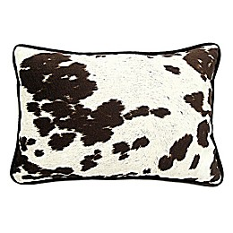 Udder Madness Square Throw Pillow in Milk