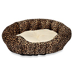 K&H Self-Warming Pet Nuzzle Nestin Leopard