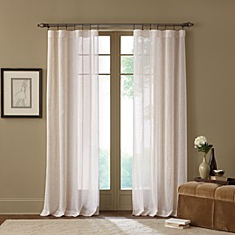 Cambria® Terra Natural Sheer Rod Pocket Window Curtain Panel