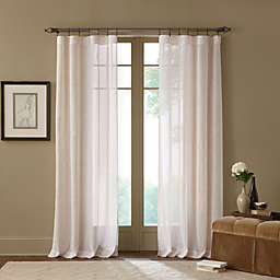 Cambria® Terra 95-Inch Rod Pocket Sheer Window Curtain Panel in Natural