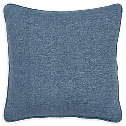 Rizzy Home Solid Pintucked Square Throw Pillow