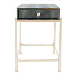 Safavieh Cleo Nightstand in Black